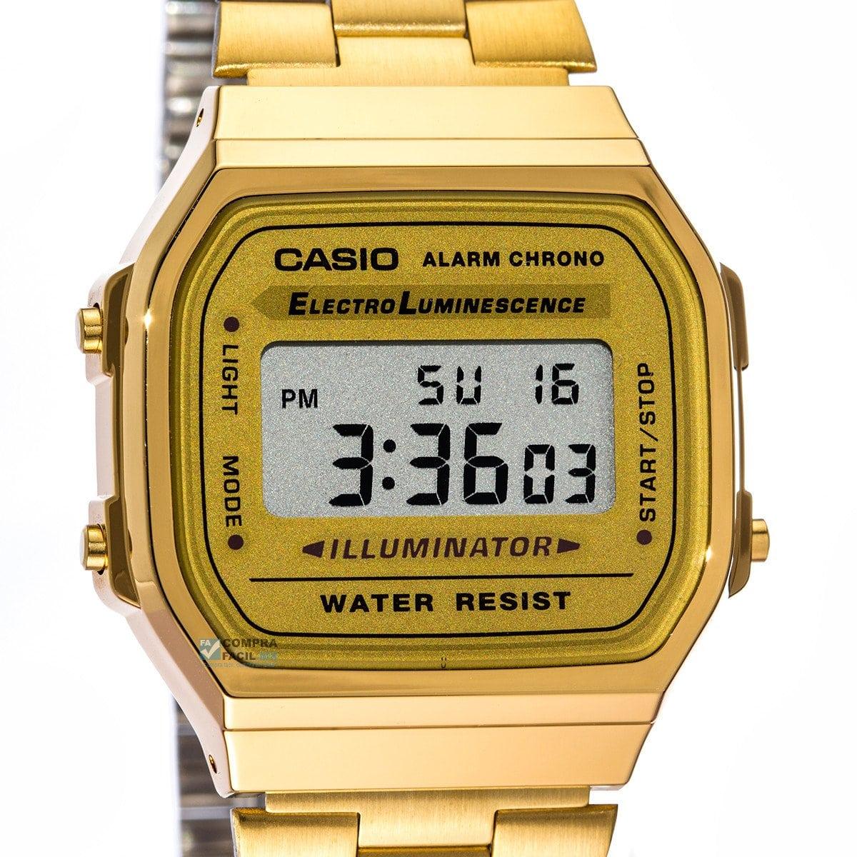 f055e8194c8 Relógio Casio A168WG