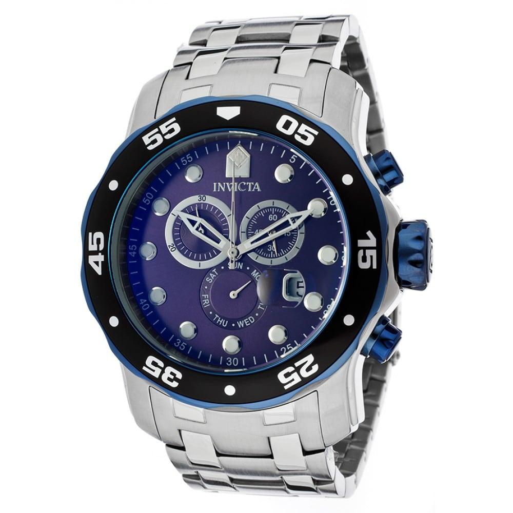 a25e407bb05 Relógio Prata e Azul Invicta - Feira dos Importados de Brasília - Sia - A  Loja Virtual