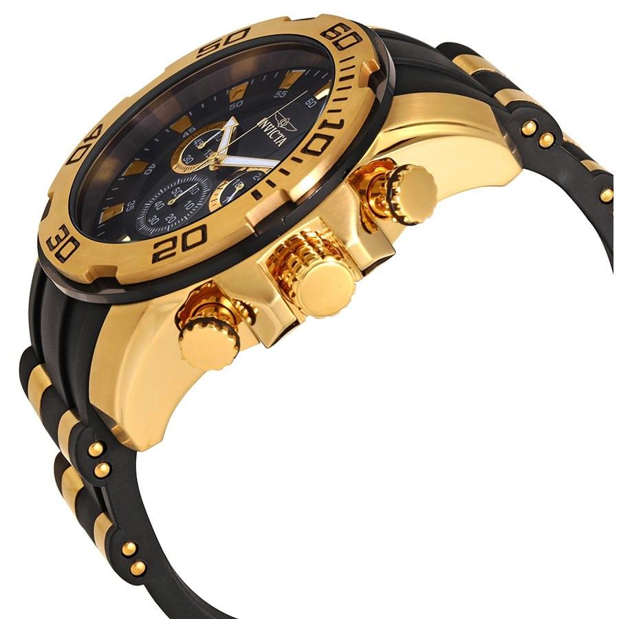 996b53f6161 Relógio Preto com Dourado Invicta - Feira dos Importados de Brasília ...