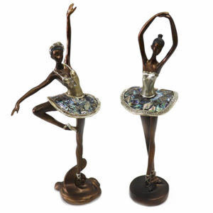 Bailarinas Mabruk em resina
