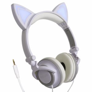 Headphone Orelhas de Gato