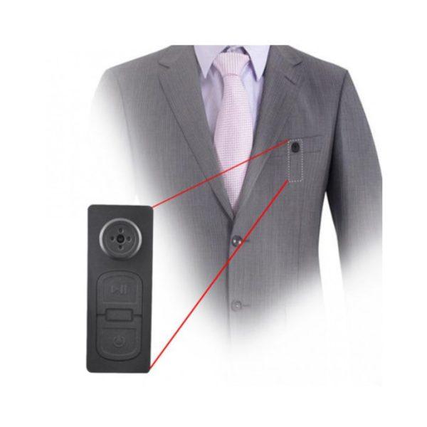 botão espião