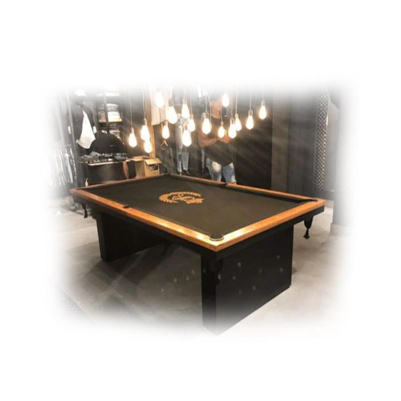 mesa de sinuca atrativa black