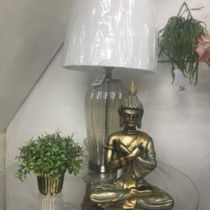 Mesa descorativa com Estatua