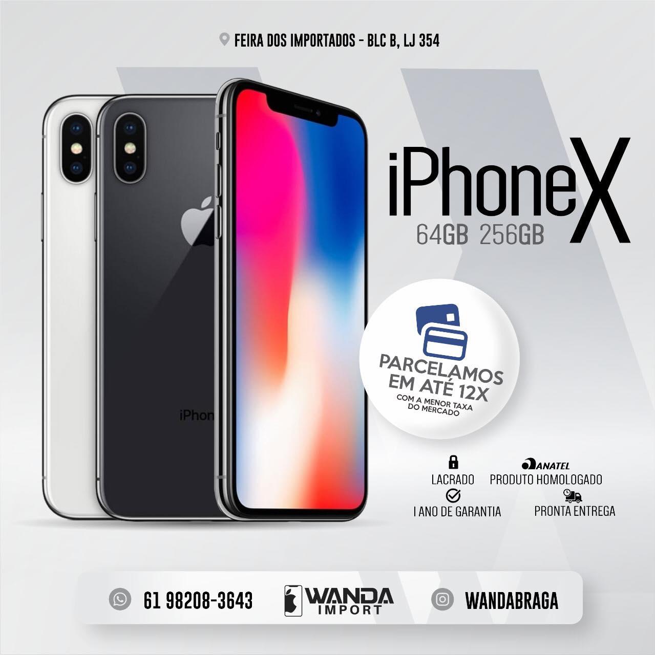 826d93660 iPhone X - Feira dos Importados de Brasília - Sia - A Loja Virtual