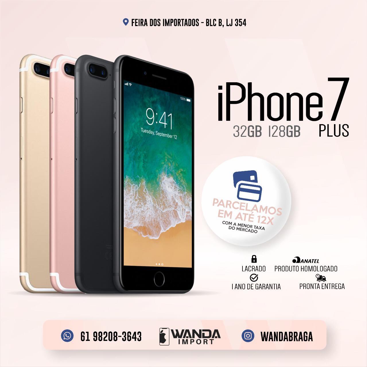 d6fa06fc0 iPhone 7 - Feira dos Importados de Brasília - Sia - A Loja Virtual