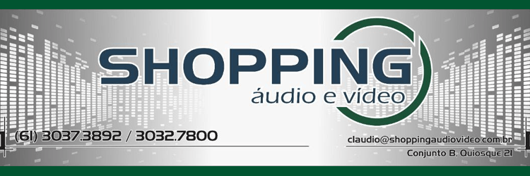 Shopping Audio e Video