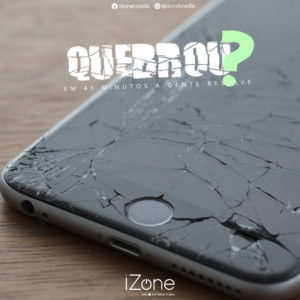 quebrou celular